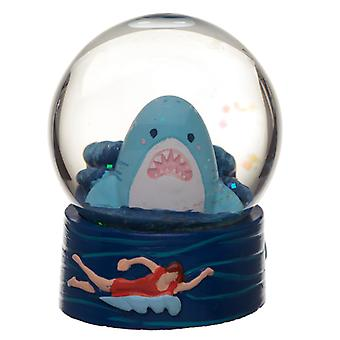Collectable Shark Cafe Snow Globe Waterball X 1 Pack