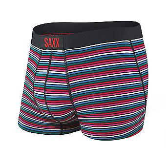 Saxx Vibe Trunks - Black Witty Stripe