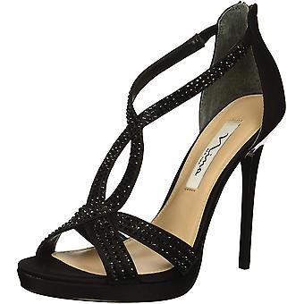Nina naisten FIANNA-YF nahka avoin toe rento nilkka hihna sandaalit