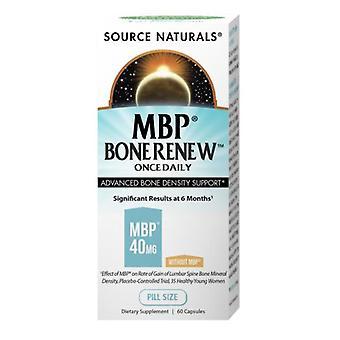 Source Naturals MBP Bone Renew, 60 Caps