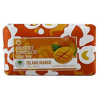 Desert Essence Island Mango Bar Soap, 5 Oz