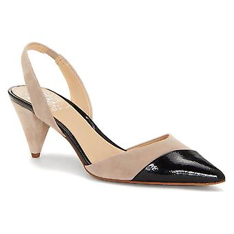Vince Camuto Femme Corran Cuir Pointed Toe Casual Slingback Sandales
