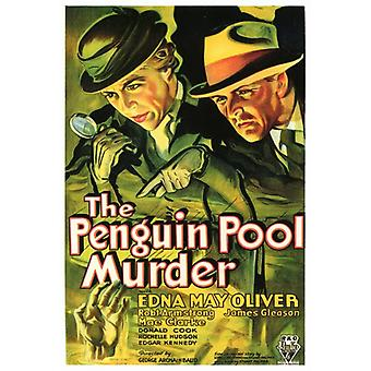 The Penguin Pool Murder Movie Poster Print (27 x 40)