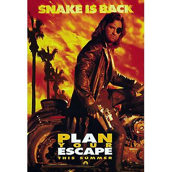 Escape from L.A. Original Movie Poster Advance Style
