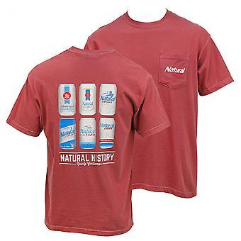 Naturligt lys Øl Natural History Pocket T-shirt