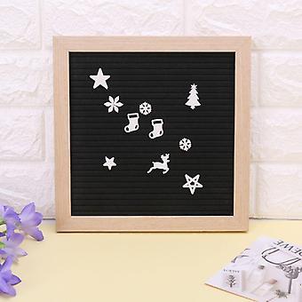 Christmas Felt Sign Board, Plastic Letters For Felt