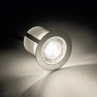 Brilliant Cosa 30 G03093/75 LED forsænket lys 10-delt sæt 4,5 W Varm hvid rustfrit stål