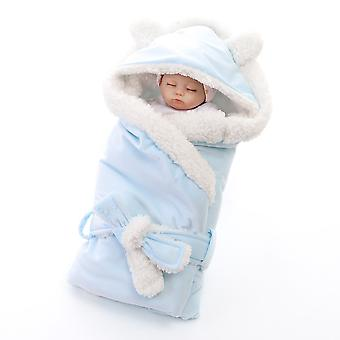 Homemiyn Pure Color Lamb Wool Baby Quilt Warm Comfortable Breathable Soft Blanket