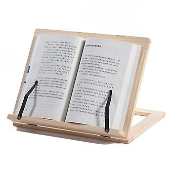 Brown Easy Reading Folding Wooden Pine Frame/bookshelf/reading Bracket Tablet