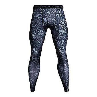 3d Printed Camouflage Joggers Leggings Quick Dry Compression Pants