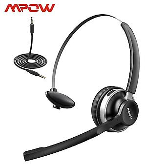 Mpow Hc3 Bluetooth 5.0 Headphone Dual Noise Cancelling Microphone Clear