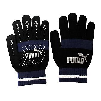 Puma No 1 Logo Cat Magic Winter Unisex Käsineet 7G Musta Sininen 041504 01