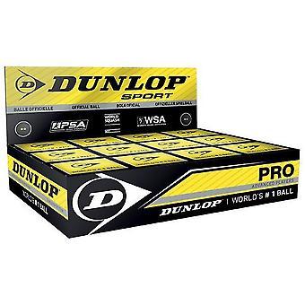 Dunlop Pro Squash Balls (Paquete de 12)