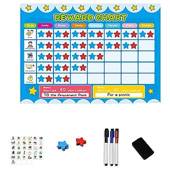 Magnetic Calendar- Responsibility And Reward Chart