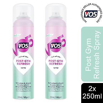 2x of 250ml Full of Life PostGym Refreshing Fragrance Spray Perfect For FineHair