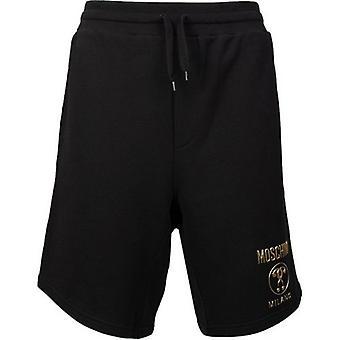 Moschino Couture Gold Logo Shorts