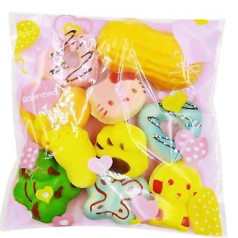 Squeeze Toys, Cream Scented Slow Rising Kawaii Squeeze Toys, Medium Mini Size