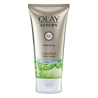 Facial Exfoliator Scrubs Olay Scrubs Citroen 5-in-1 150 ml