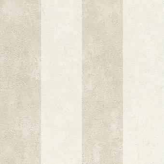 Lucera Stribe Tapet Cream Rasch 608915
