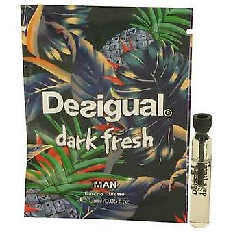 Desigual Dark Fresh By Desigual -injektiopullo (näyte) .05 Oz (miehet) V728-533944