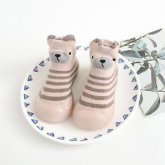 طفل شريط القطن السميك أحذية لينة soled