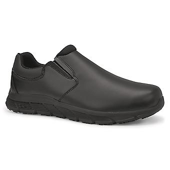 Shoes For Crews Womens Cater II Slip Resistant Leather Shoes