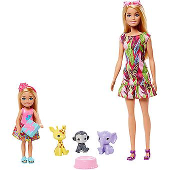 Barbie Birthday Surprise Barbie & Chelsea Story Set