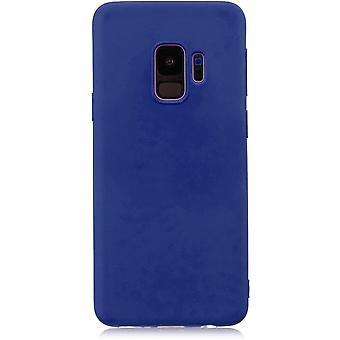 "HaiFei Samsung Galaxy S9 Hlle Case + 1 x Panzerglas Schutzfolie"" Silikon Schutzhlle Handyhlle, Outdoor"