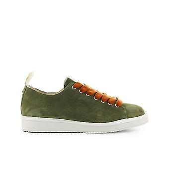 Pànchic Olive Green Rust Suede Sneaker