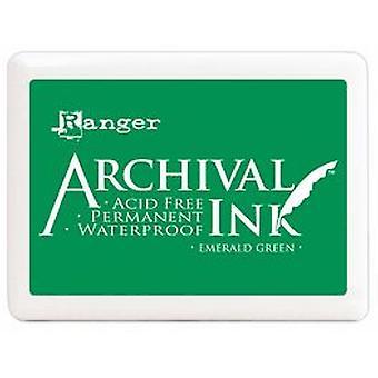 Ranger Jumbo Archival Ink Pad - Verde Esmeralda
