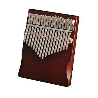 Kalimba Mahogany Puu peukalo sormi piano
