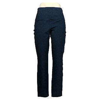 Vrouwen met Control Women's Jeans Stretch Reversible Ankle Blue A366039
