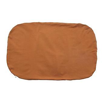 Newborn Cotton Fabric Crib With Cushion Portable Baby Cot.