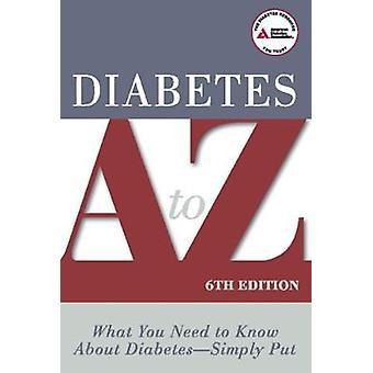 Diabetes A to Z by American Diabetes Association