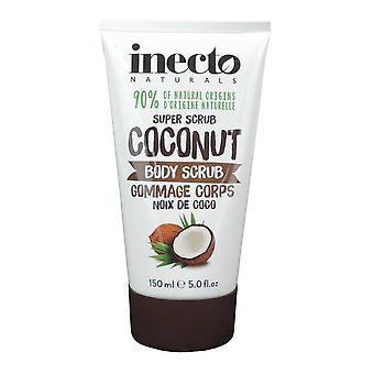 Inecto Naturals Super Body Scrub Coconut Noix de Coco 150ml