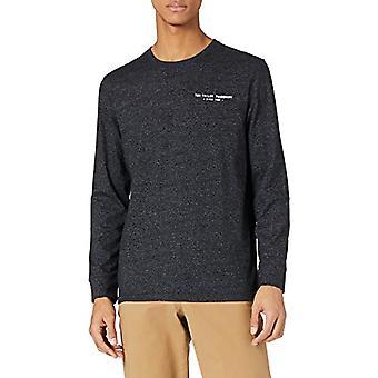 Tom Tailor Grindle Langarm T-Shirt, 29999-Black, L Man