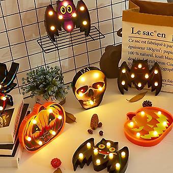 Halloween valot kotiin koristeellinen led valot Diwali muotoilu lamppu