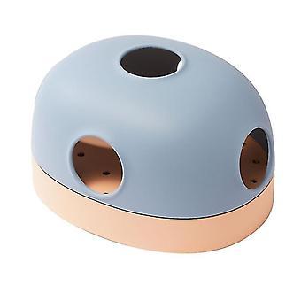 Pentru multi utilizare Pet Cat Jucărie Track Ball Tunnel Interactive Toys For Cats Kitten Games (albastru) WS11406