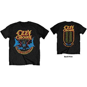 Ozzy Osbourne - Bat Circle Men's Medium T-Shirt - Black