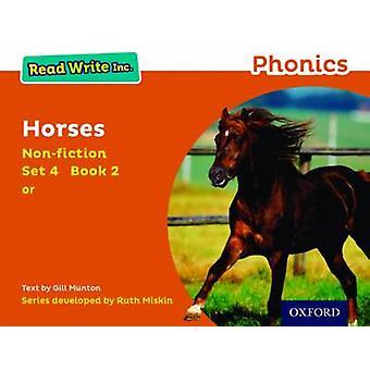 Les Write Inc. Phonics Orange Set 4 Nonfiction 2 Hester av Gill Munton
