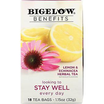Bigelow Tea Lemnn Echinacea, Case of 6 X 1.15 Oz