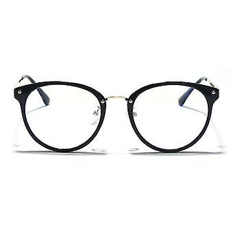 Retro Anti Blue Ray Ordenador Round Eye Glass &Blue Light Blocking Fashion