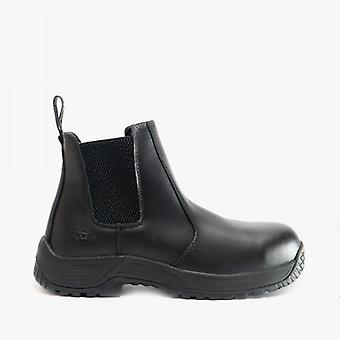 Dr Martens Drakelow Unisex Leather Safety Boots Black