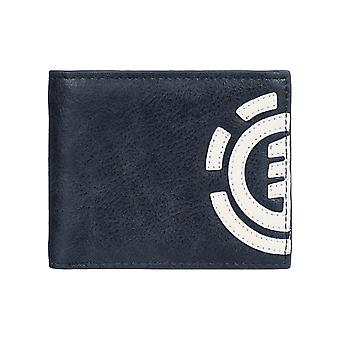 Element Daily Faux Leather Wallet in Total Eclipse