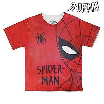 Child's Short Sleeve T-Shirt Spiderman 72630