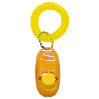 Koiran napsautuskouluttaja avainrenkaalla ja rannehihnalla 7 värissä