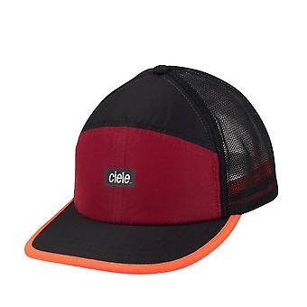 Ciele TRKCAP SC Standard Small Unisex Running Cap, Red Rocks