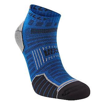Hilly Twin Skin Socklets - Azurite Blue/Grey Marl