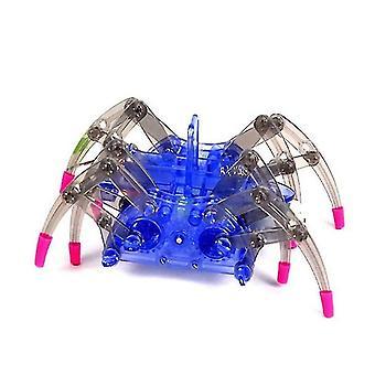 الروبوتية اللعب الروبوت الكهربائية العنكبوت DIY التعليمية يجمع مجموعات