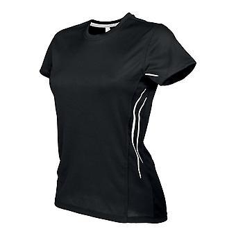 Kariban Proact Womens/Ladies Quick Drying Contrast Sports T-Shirt